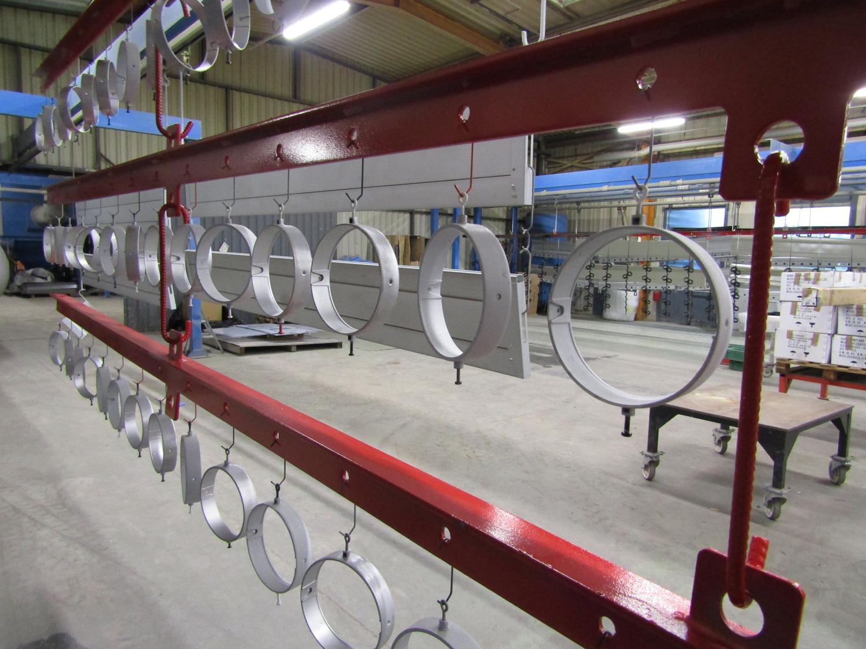 préparation de surface pour peinture industrielle en mayenne